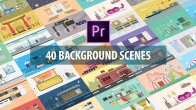 Photo of [Premiere Pro] 40 Mix Background Scenes
