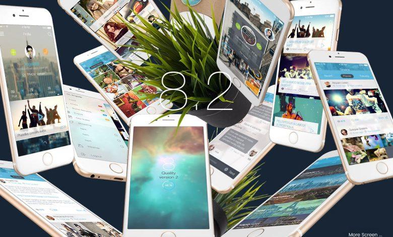 43 PSD Mobile UI Kit
