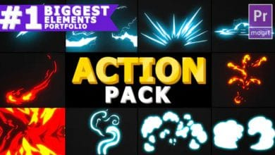 Photo of [Premiere Pro] Action Elements Pack