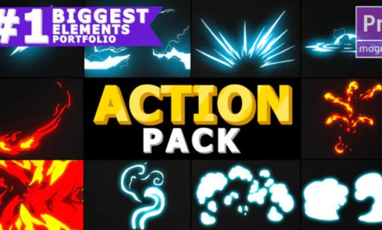 Action Elements Pack for Premiere Pro