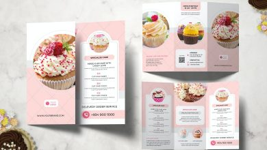 Photo of [InDesign] Cake Restaurant Brochure Template