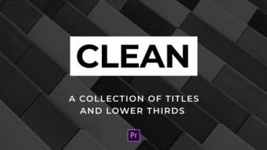 Photo of [Premiere Pro] Clean Titles and Lower Thirds
