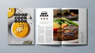 Photo of [InDesign] Creative Cookbook Stuffed With Your Recipes and Dish Photos