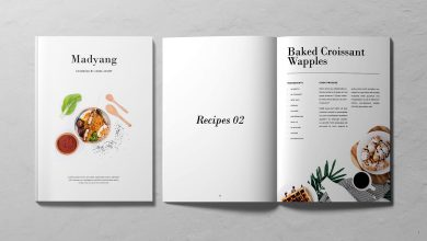 Photo of [InDesign] 24 Pages Creative Cookbook