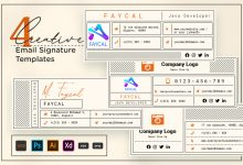 Photo of Creative Email Signature V2