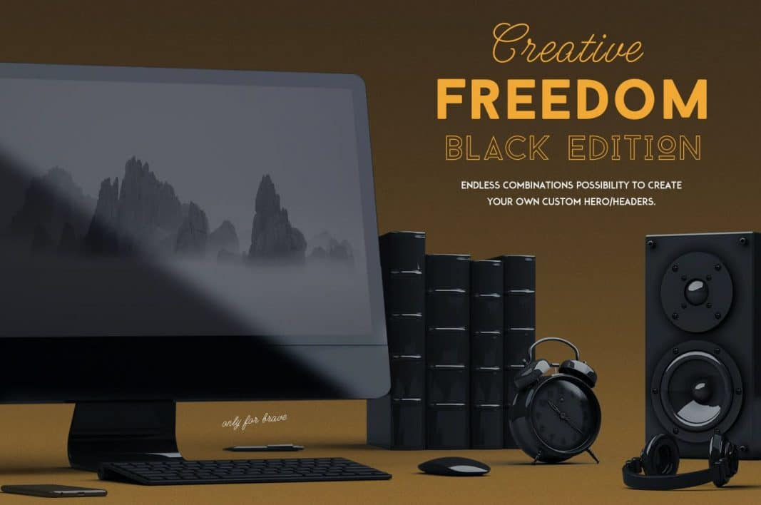 Creative Freedom Black edition