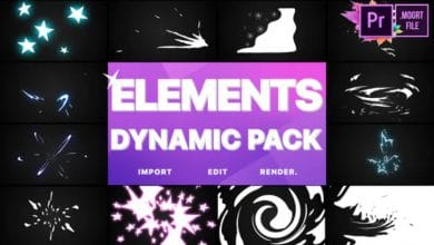 Photo of [Premiere Pro] Dynamic elements
