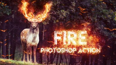 Photo of [Photoshop] Fire Action