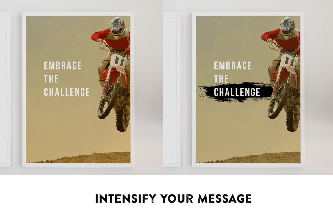 Intensify your message