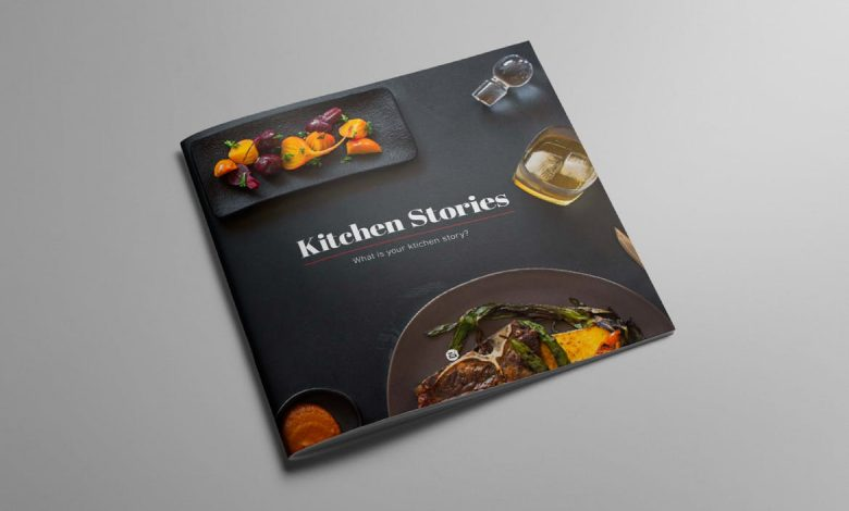 KITCHEN STORIES - Recipe Cookbook for InDesign