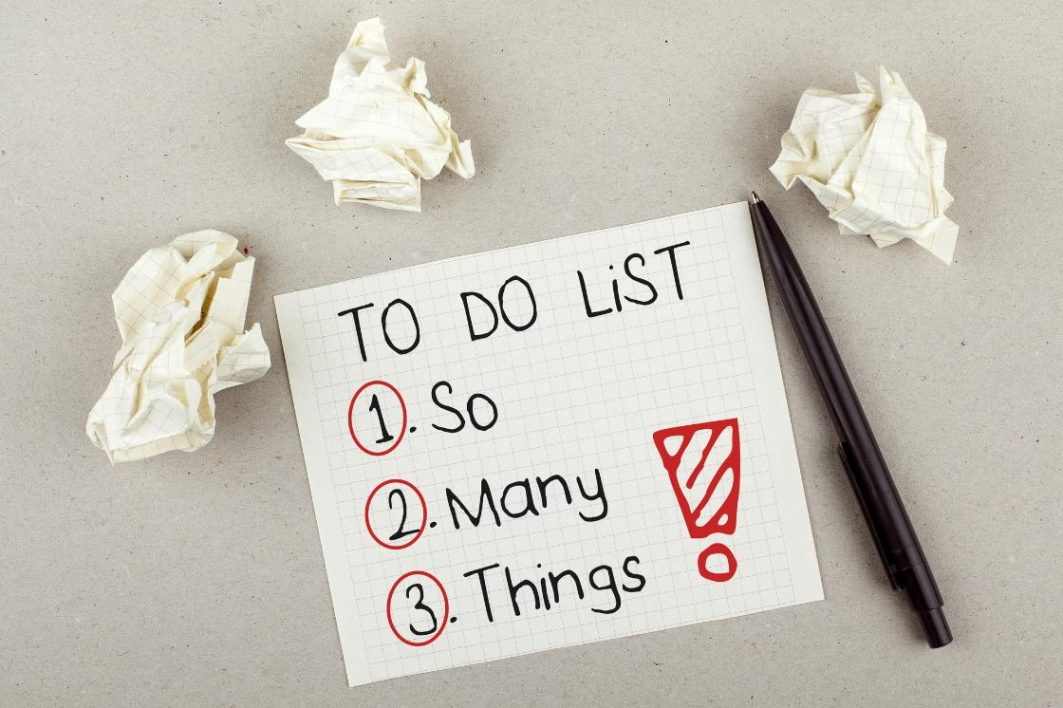To do list for Time management