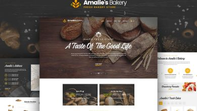 Photo of [Photoshop] Website Bakery Onepage