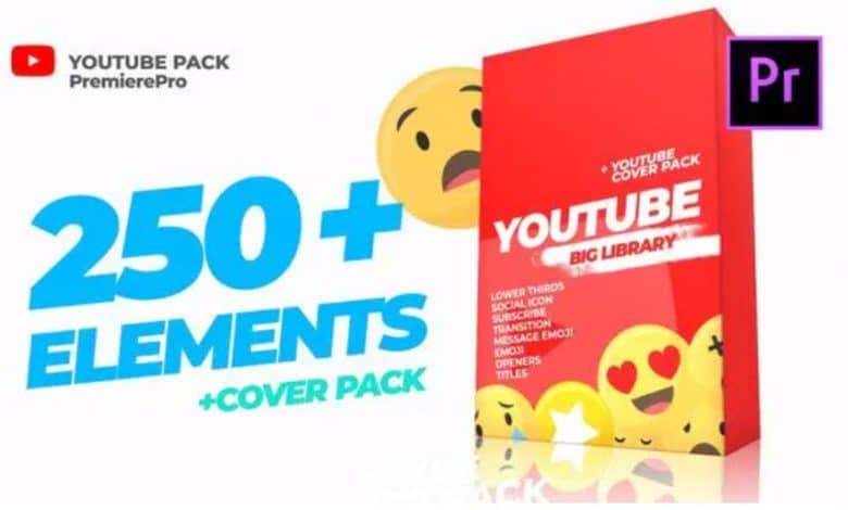Youtube Library and Сover pack