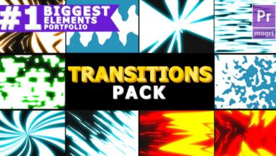 Photo of [Premiere Pro] Dynamic Elemental Transitions