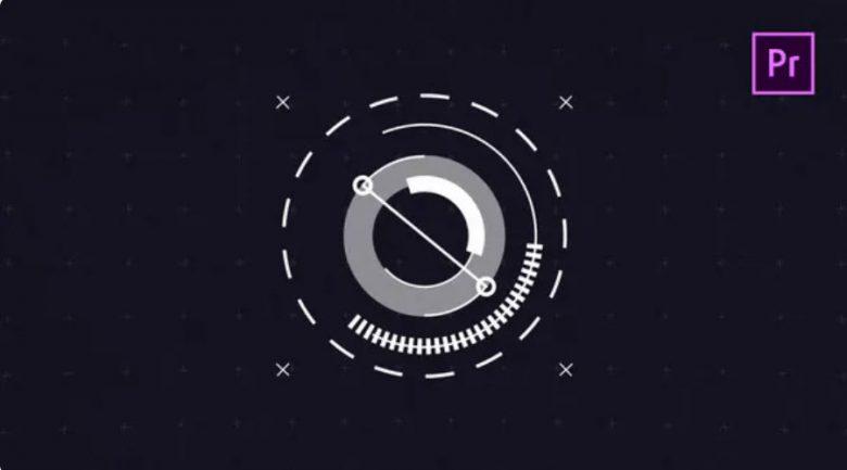 2D Hi-Teck Logo Reveal for Premiere Pro