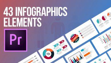 Photo of [Premiere Pro] 43 Infographics Elements