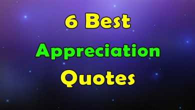 Photo of The Best 6 Appreciation Quotes With Pictures