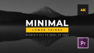Photo of [Premiere Pro] 8 Minimal Lower Thirds