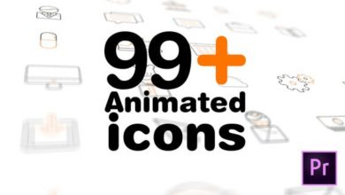 Photo of [Premiere Pro] 99 Animated Icons