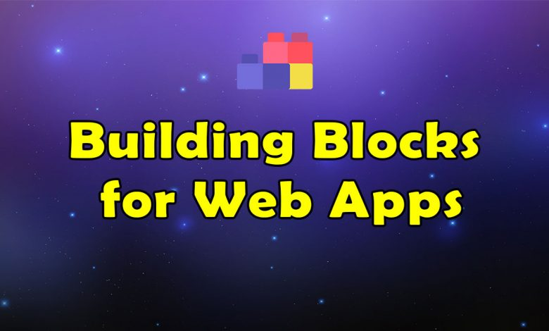 Awesome Building Block For Web App Resources List