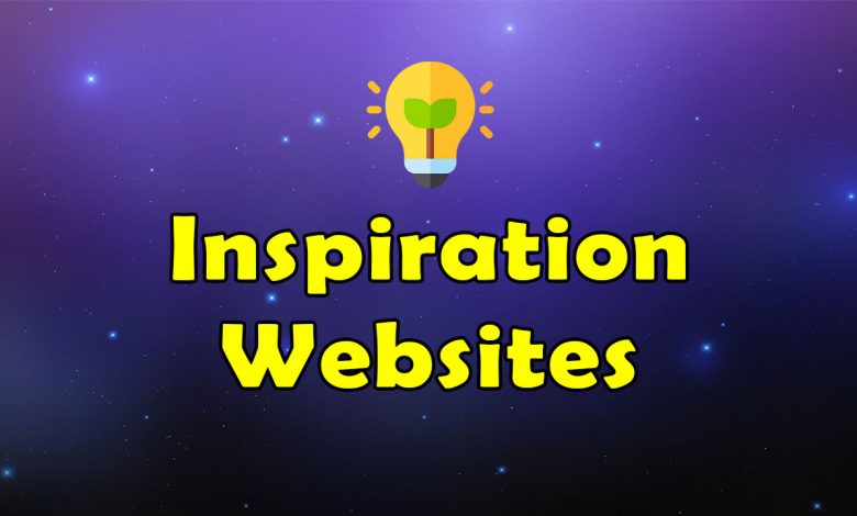 Awesome Inspiration Websites Resources List