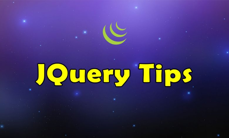 Awesome JQuery Tips Resources List