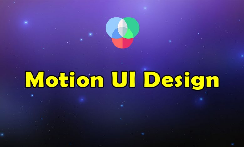 Awesome Motion UI Design Resources List
