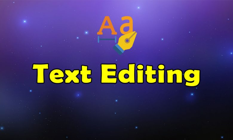 Awesome Text Editing Resources List