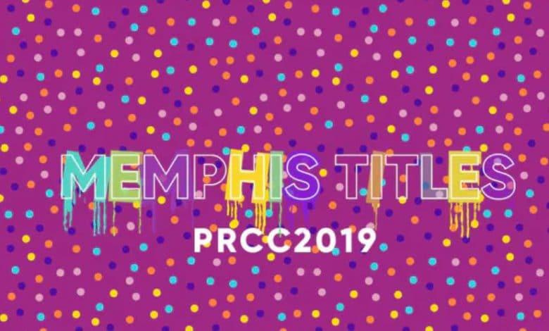 Memphis Titles for Premiere Pro