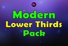 Photo of [Premiere Pro] Modern Lower Thirds Pack