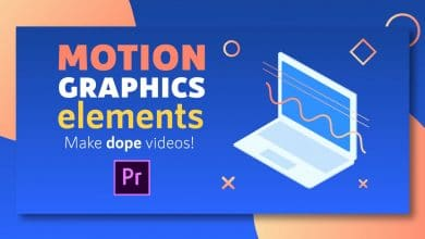 Photo of [Premiere Pro] Motion Graphics Elements Pack