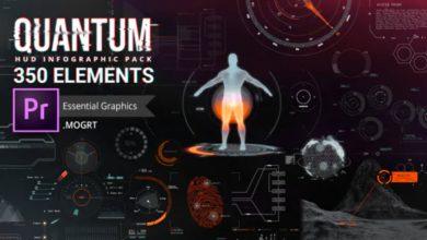 Photo of [Premiere Pro] Quantum HUD and HiTech Elements