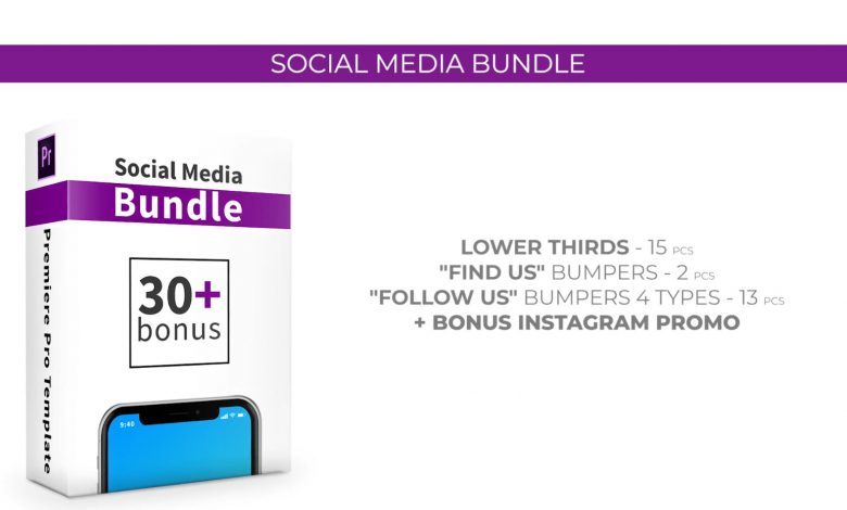 Social Media Bundle for Premiere Pro