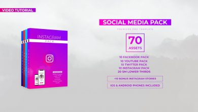 Photo of [Premiere Pro] Social Media Pack with 70 elements