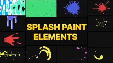 Photo of [Premiere Pro] 12 Splashes Paint Pack