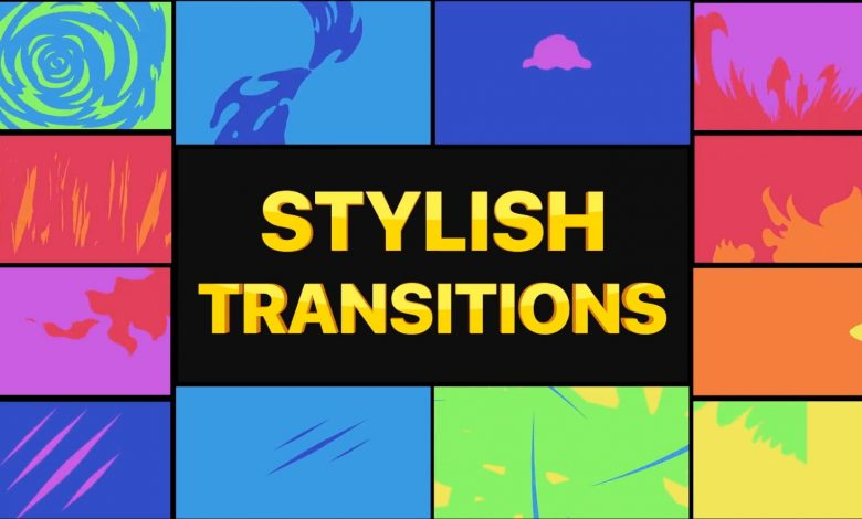 Stylish Transitions for Premiere Pro