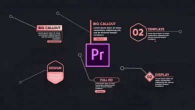 Photo of [Premiere Pro] 17 Call Out Titles Toolkit