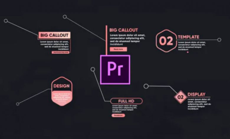 17 Call Out Titles Toolkit for Premiere Pro
