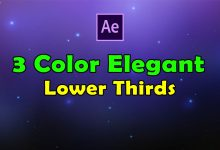 Photo of [After Effects] 3 Color Elegant Lower Thirds