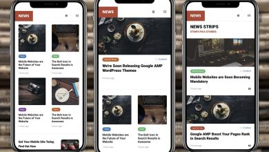 Photo of AMP News Mobile Google  Template