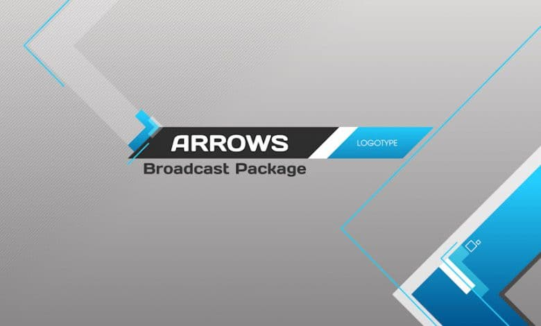 Arrows Broadcast Package for After Effects