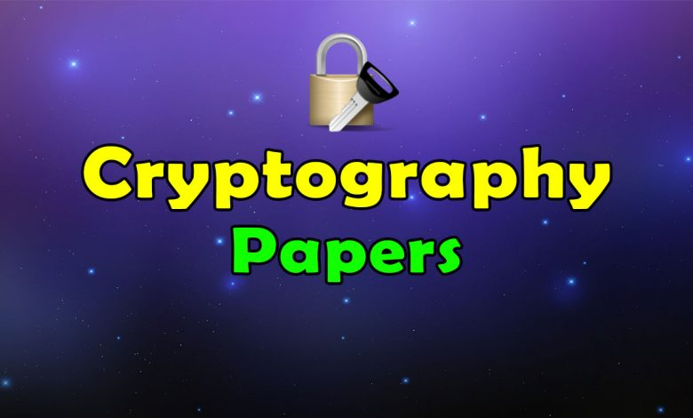 Awesome Cryptography Papers Resources List