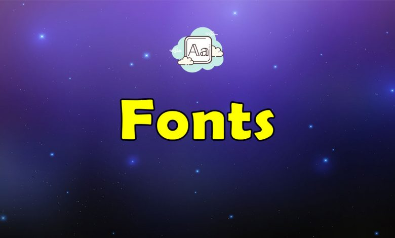 Awesome Fonts Resources List