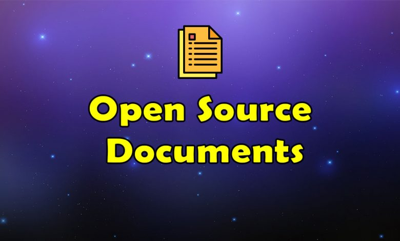 Awesome Open Source Documents Resources List
