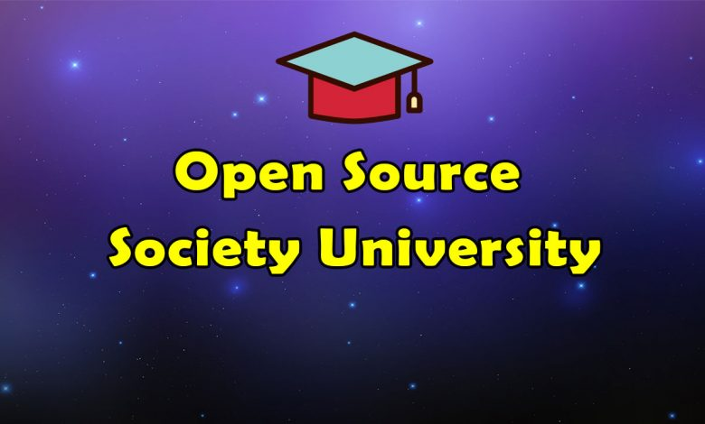 Awesome Open Source Society University Resources List
