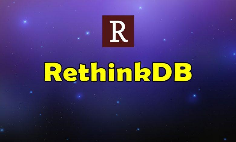 Awesome RethinkDB Resources List