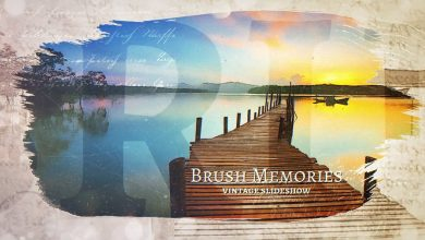 Photo of Brush Memories Paintbrush Slideshow for Premiere Pro and After Effects