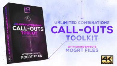 Photo of [Premiere Pro] Call Outs Toolkit
