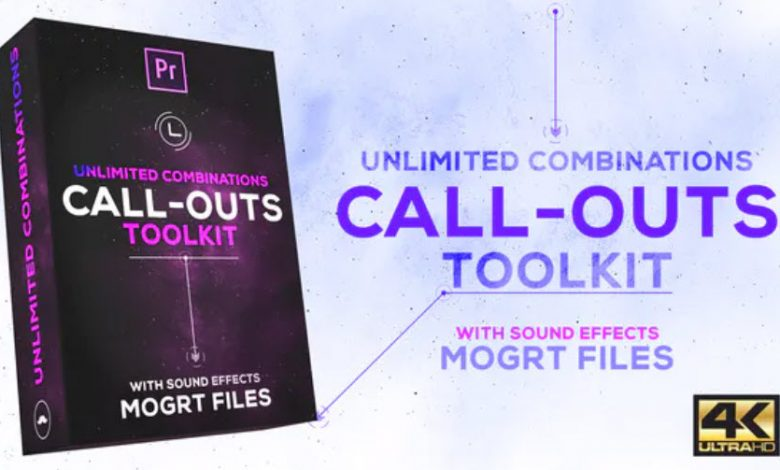 Call Outs Toolkit for Premiere Pro