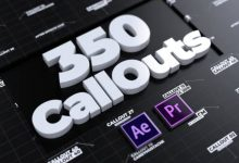 Photo of 350 Call Outs For Premiere Pro and After Effects